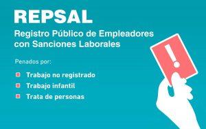 Registro Público de Empleadores con Sanciones Laborales (REPSAL)