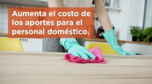 Aumenta el costo de los aportes para el personal doméstico: los cambios y el sueldo vigente