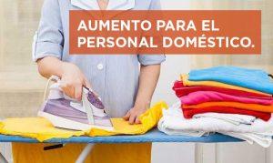 Sube 25% el sueldo de las empleadas domésticas