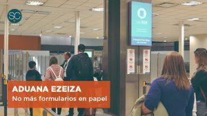 AFIP digitaliza la declaración de ingreso de objetos personales en Ezeiza